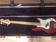 Продаю American Standard Precision Bass, юбилейная модель из Австралии