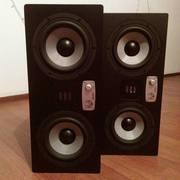 """EVE Audio SC307 – трехполосные 7"""" студийные мониторы."""